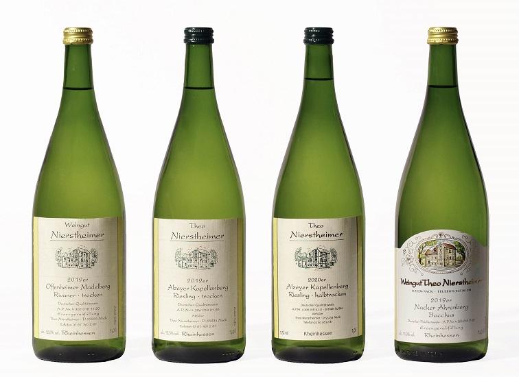 Weisswein Literflaschen